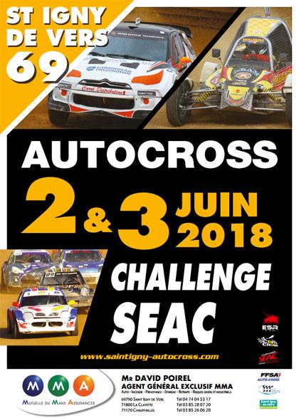 Challenge SEAC St Igny de Vers 2018